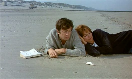 """מתוך """"אהבתיך, אהבתיך"""". אלן רנה. 1968"""
