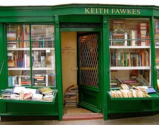 חנות הספרים בשכונת המסטד