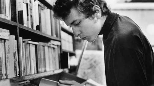 בוב דילן קורא דילן תומס בספריה הציבורית של מינסוטה