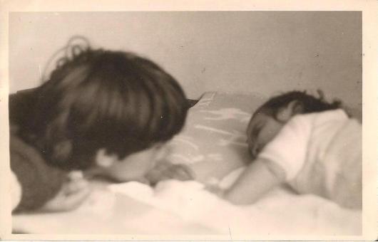 1970. דצמבר. חגית ואני