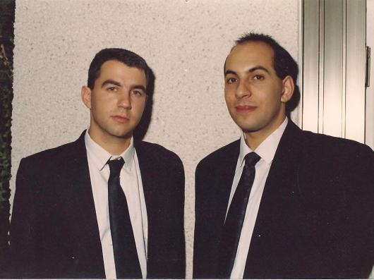 שנת 1990. לונדון. ארוחת ערב