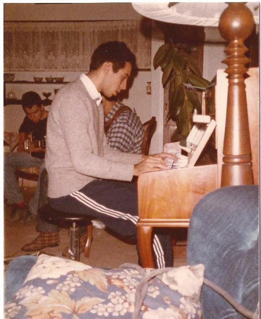 בבית השכור ברחוב הגדרות. 1983
