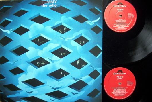 """שני תקליטים אופרת רוק אחת. טומי. """"המי"""". 1969"""