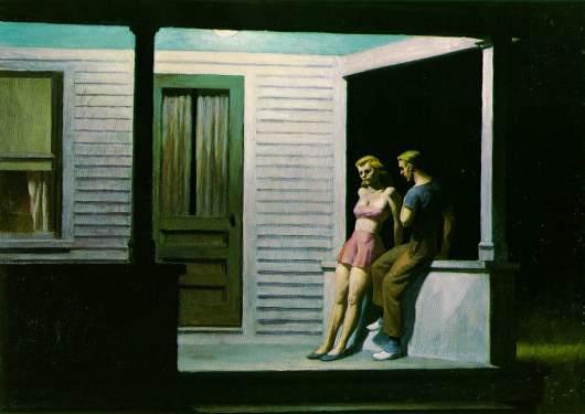 ערב קיץ. אדוארד הופר