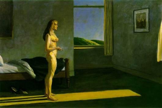 אישה בשמש. אדוארד הופר, 1961