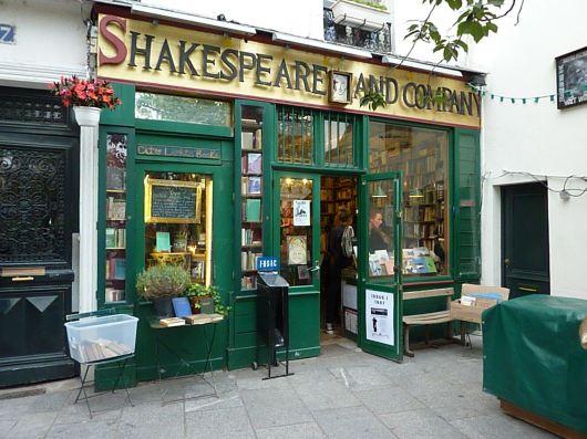 שקספיר אנד קומפני. חנות הספרים האנגלית, על גדות הסיין