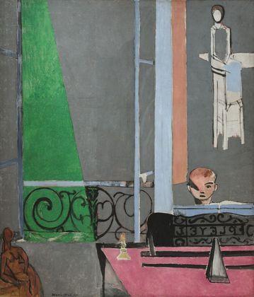 LA LECON DE PIANO Henri Matisse שיעור פסנתר. הנרי מאטיס