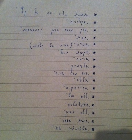 רשימת הסיפורים-3