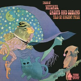 VINCENT PRICE Tales of Witches, Ghosts and Goblins